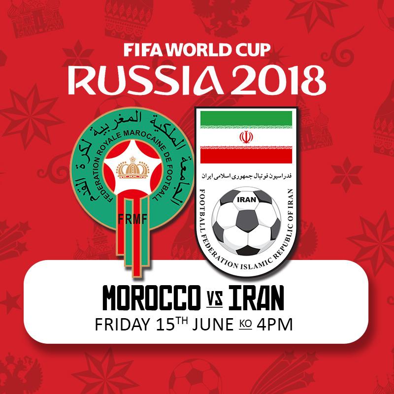 ایران - مراکش - ۲۵ خرداد ۱۳۹۷