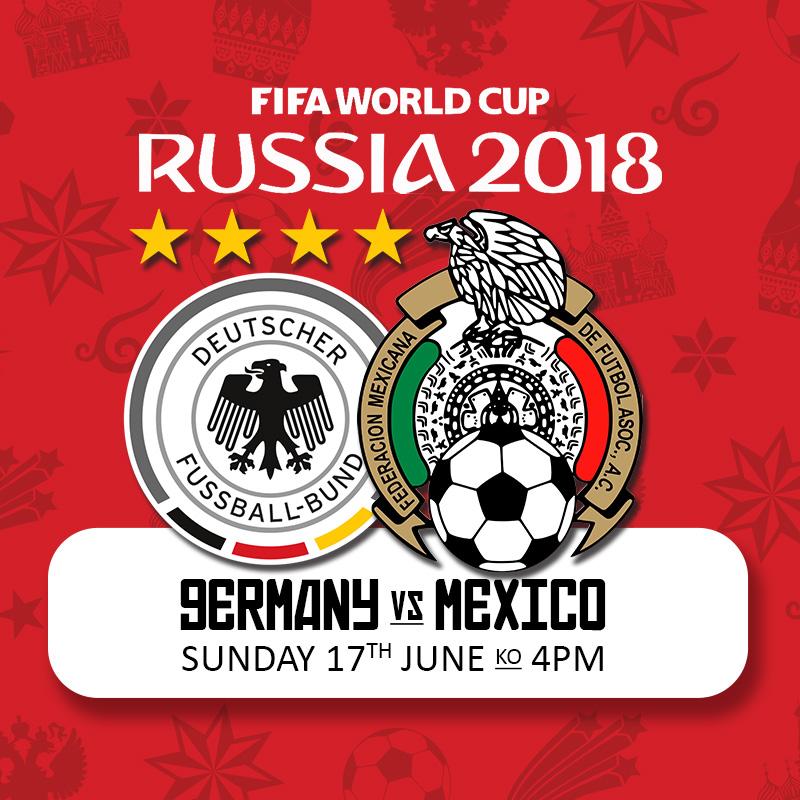 آلمان - مکزیک - ۲۷ خرداد ۱۳۹۷